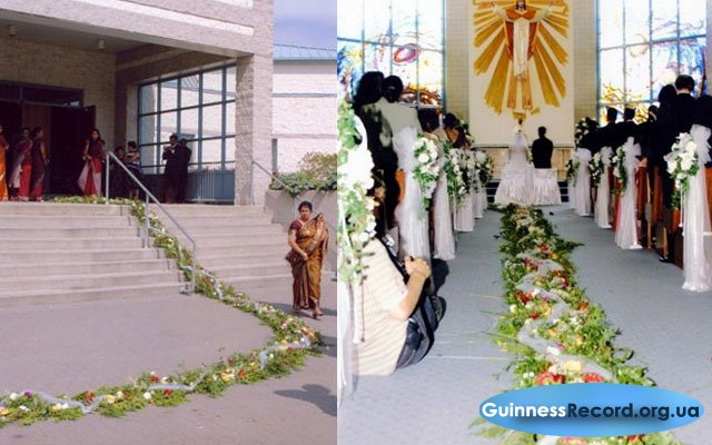 Самая большая свадьба была