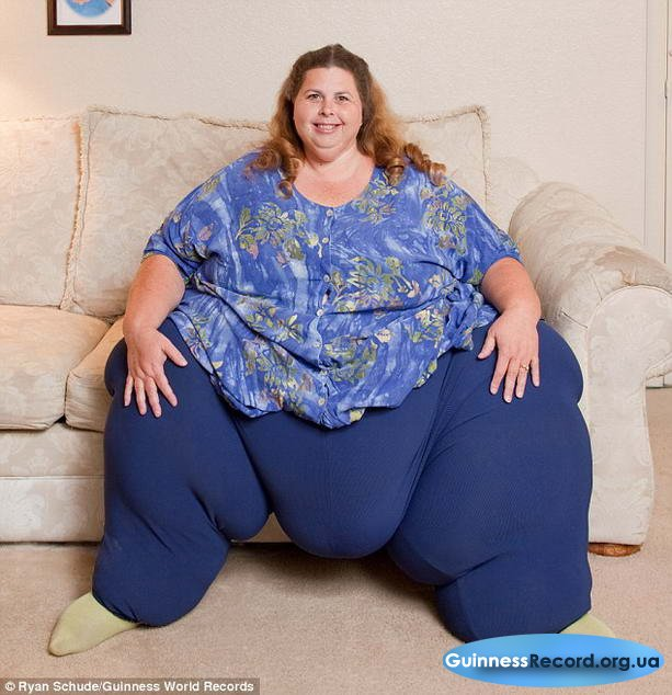 Секс с самой толстой женщиной