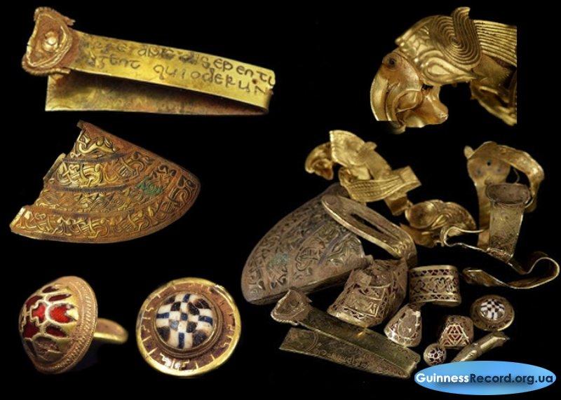 Клады и находки: список наиболее дорогих найденных предметов.